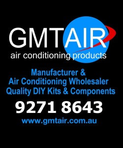 air conditioning perth gmtair window sign